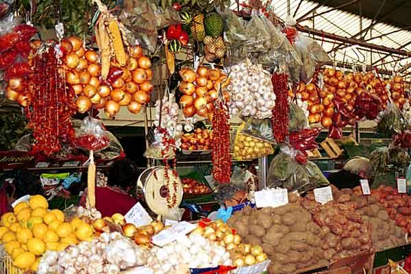 Fruit and Veggie Stall by Monique Jansen